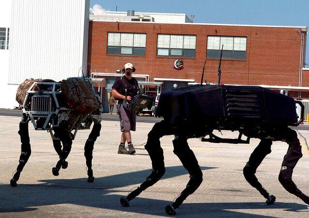Big dog military robots