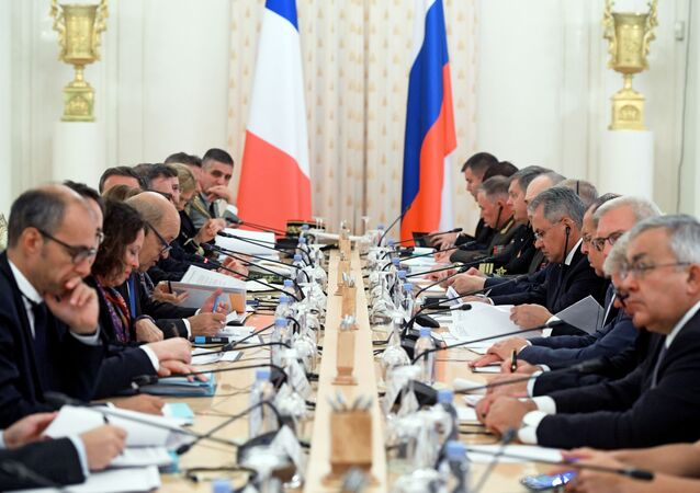 Meeting of the Russian-French Security Cooperation Council