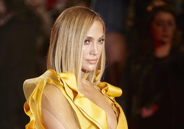 Jennifer Lopez arrives for the premiere of Hustlers during the 2019 Toronto International Film Festival Day 3 on September 7, 2019, in Toronto, Ontario.