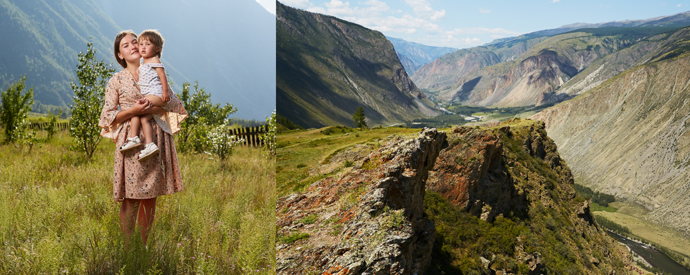 Russians and the peoples of the Altai have been creating mixed families since the first immigrants from Russia began to penetrate Altai (even before it became part of the country).