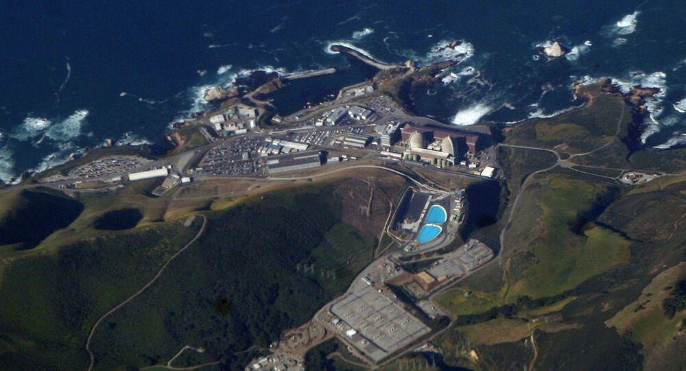 Diablo Canyon Power Plant, on the coast of California