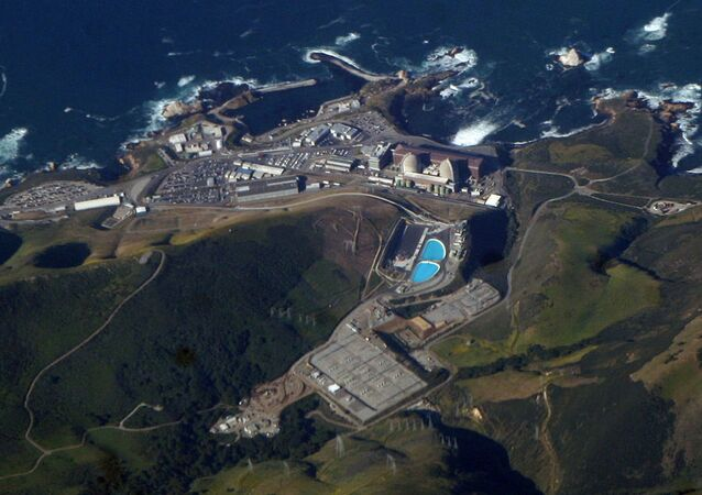Diablo Canyon Power Plant, on the coast of California