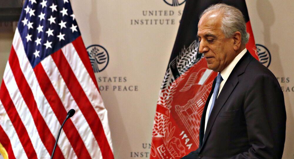 Special Representative for Afghanistan Reconciliation Zalmay Khalilzad