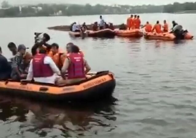 At least 11 people lost their lives when a boat capsized on Bhopal's Lower lake during idol immersion of Lord Ganesh