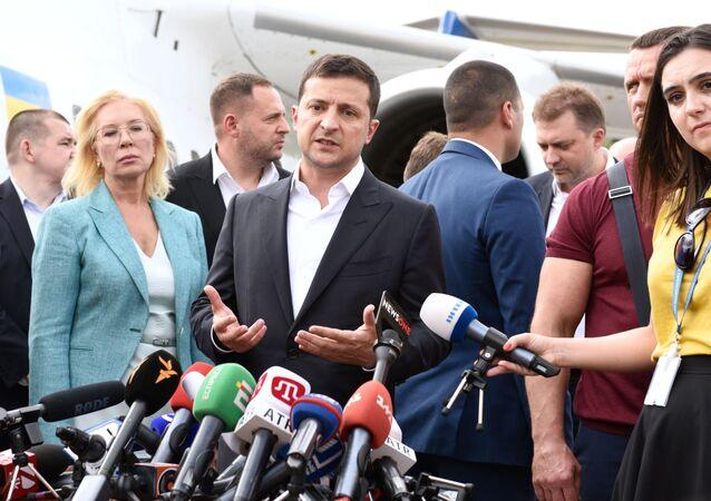 President of Ukraine Vladimir Zelensky (File)