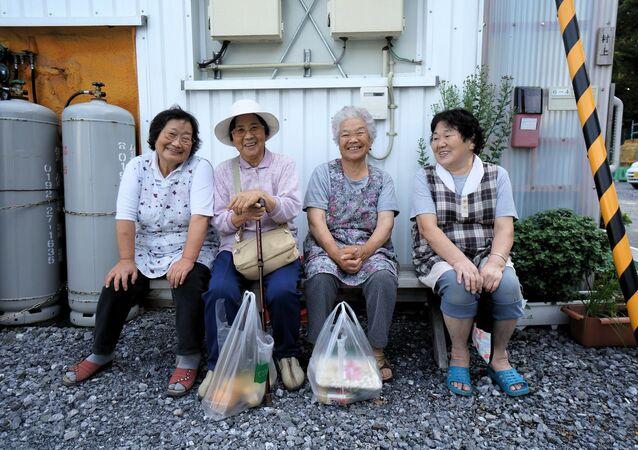 Elderly Japanese Women