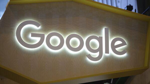 The Google logo is seen at the Vivatech, a gadgets show in Paris, France, Friday, June 16, 2017 - Sputnik International