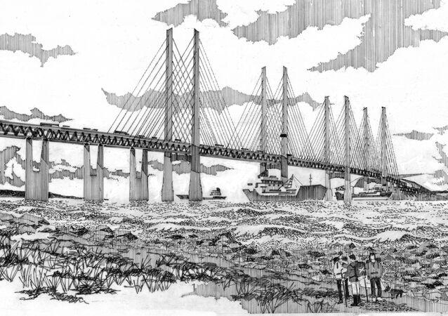 Boris Johnson supports the proposed £15 billion bridge from Scotland to Northern Ireland