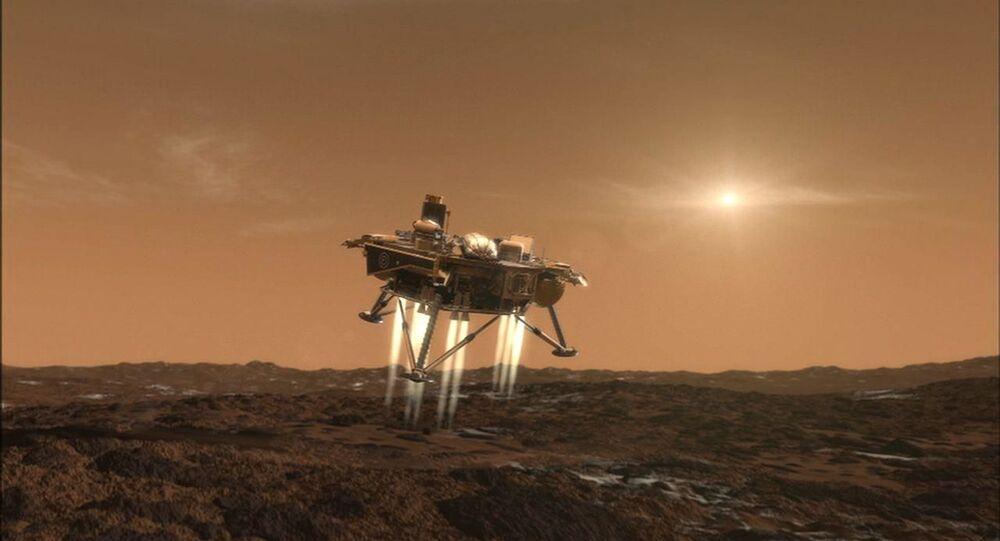 NASA's Phoenix lander makes an impression on Mars