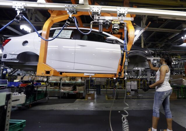Buick Verano is assembled at General Motors' Orion Assembly plant in Orion Township