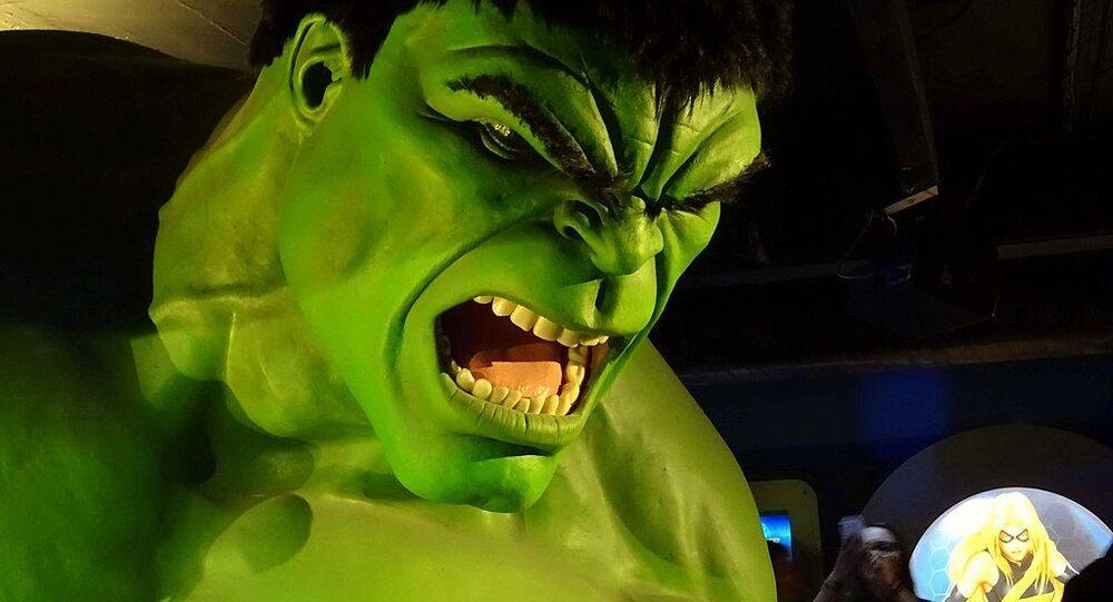 The raging Hulk