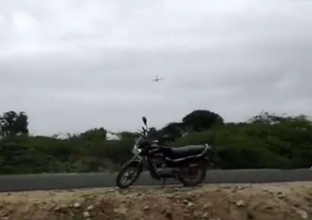 Unmanned Aerial Vehicle (UAV) Rustom2 being developed by DRDO on experimental flight trial in new configuration has crash landed in fields near Chitradurga, 200 kilometers from Bengaluru