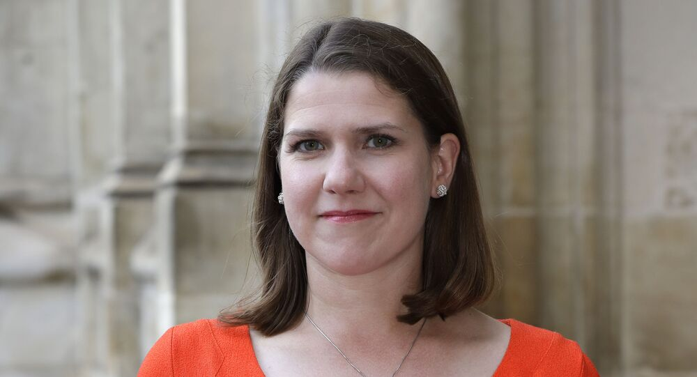 Jo Swinson, Leader of the Liberal Democrats, pictured in September 2019