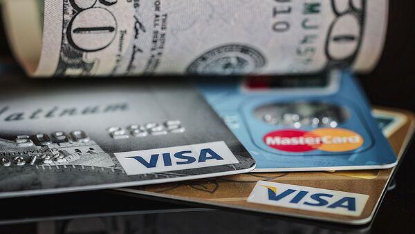 Credit cards, $50 bill USD - Sputnik International