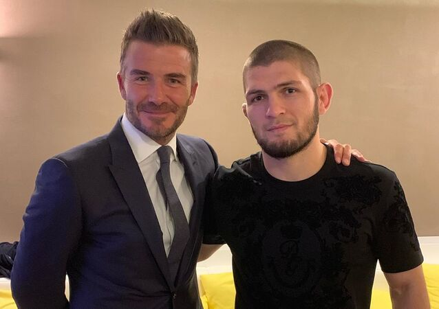 David Beckham and Khabib Nurmagomedov