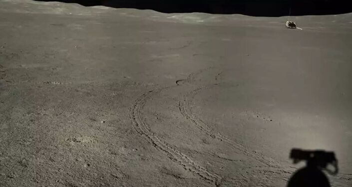 China's Lunar Rover Scopes Out Weird Substance on Far Side of the Moon