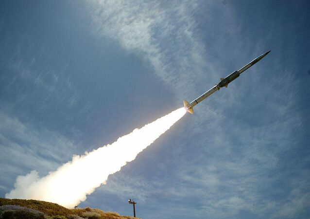 The GQM-163A Coyote Supersonic Sea-Skimming Target test launch