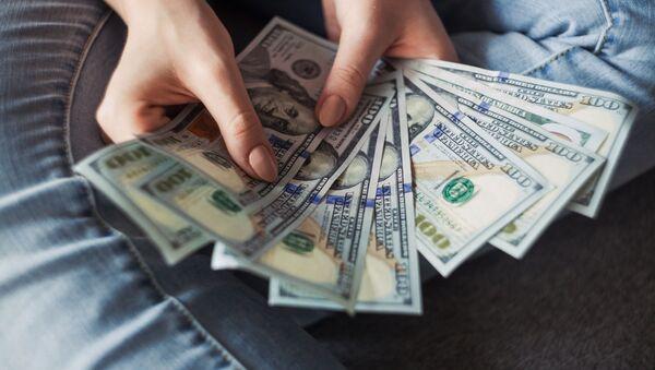 Dollar banknotes - Sputnik International