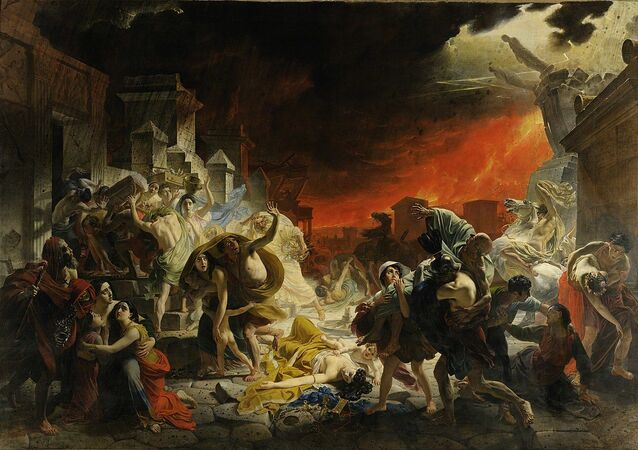 Karl Brullov - The Last Day of Pompeii