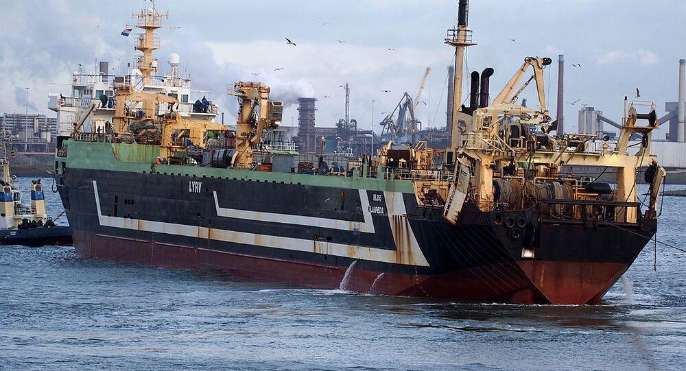 Margiris fishing boat