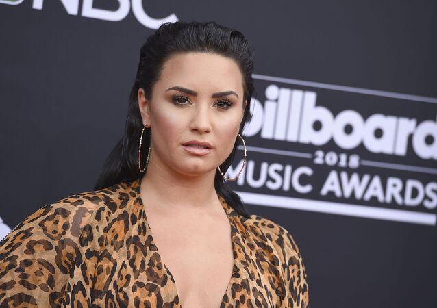 Demi Lovato at 2018 Billboard Music Awards - Arrivals