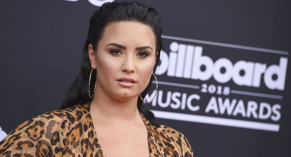 Demi Lovato at 2018 Billboard Music Awards - Arrivals