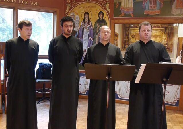 Russia's a cappella Konevets Quartet