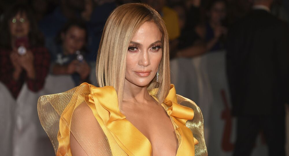 Jennifer Lopez attends the premiere for Hustlers on day three of the Toronto International Film Festival at Roy Thomson Hall on Saturday, Sept. 7, 2019, in Toronto