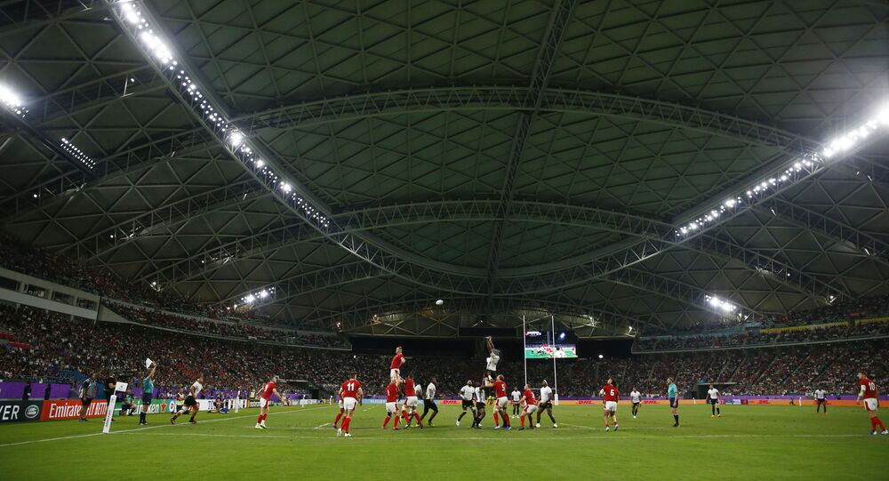 Rugby World Cup 2019 - Pool D - Wales v Fiji - Oita Stadium, Oita, Japan
