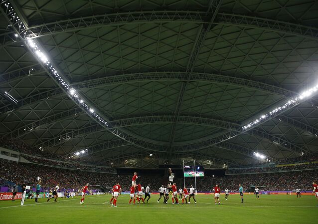 Rugby World Cup 2019 - Pool D - Wales v Fiji - Oita Stadium, Oita, Japan