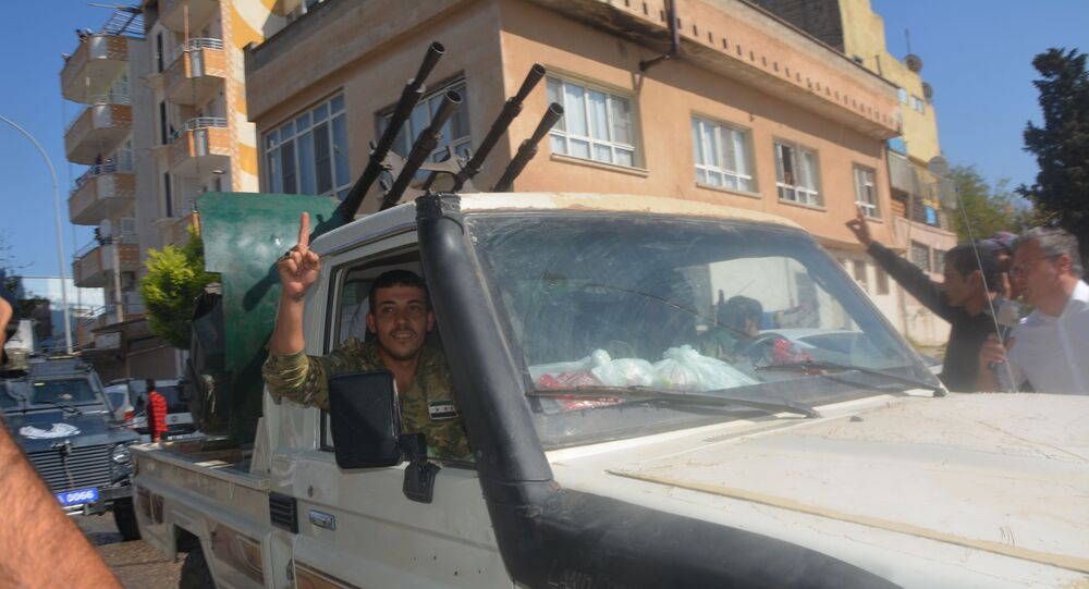 Turkey-backed Syrian opposition fighters