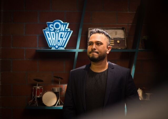 Indian talk show host Abish Mathew
