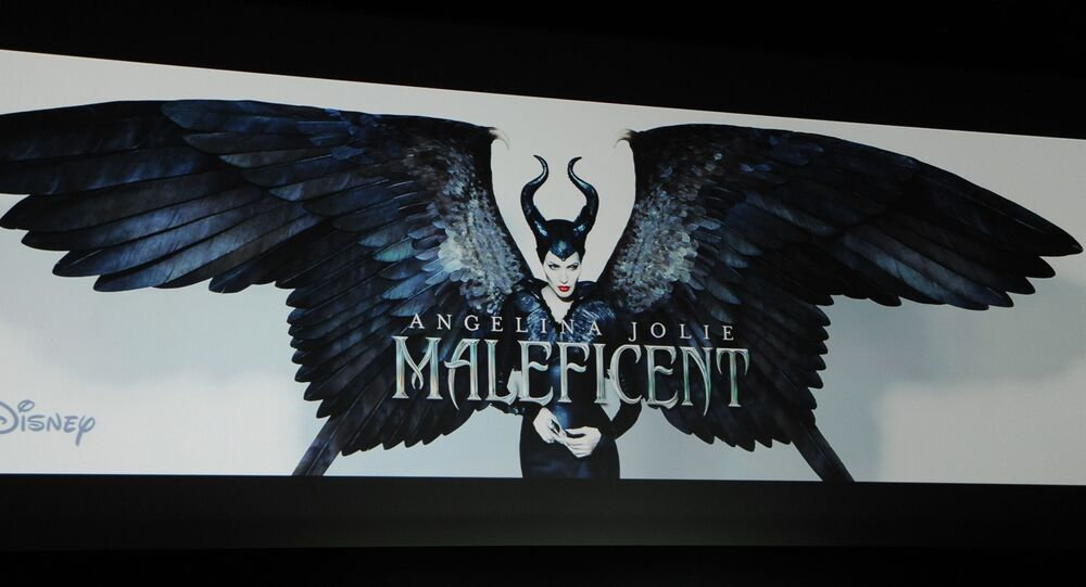The upcoming Disney film release Maleficent starring Angelina Jolie during the Disney presentation on the third day of CinemaCon 2014 on Wednesday, March 26, 2014 in Las Vegas