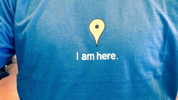T-shirt Google Maps - Sputnik International
