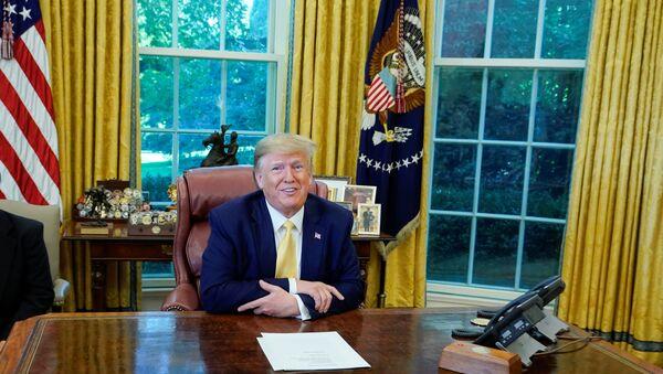 US President Donald Trump. File photo  - Sputnik International