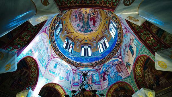 Church in Philippi City, Greece - Sputnik International