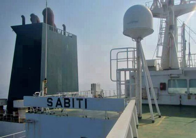 Iranian oil tanker Sabiti was hit by suspected missile strikes near the Saudi port of Jeddah, causing oil to leak into the Red Sea