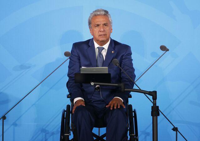 Ecuador's President Lenin Moreno
