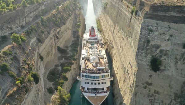 Braemar Cruising the Corinth Canal - Sputnik International