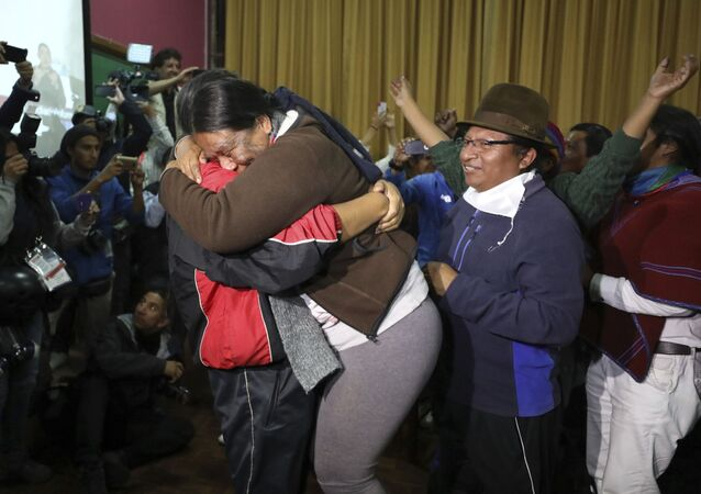 Indigenous leaders celebrates the announcement that the government cancelled an austerity package that triggered violent protests