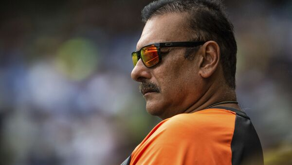 Head coach of the Indian cricket team Ravi Shastri during a play on day two of the third cricket test between India and Australia in Melbourne, Australia, 27 December 2018 - Sputnik International