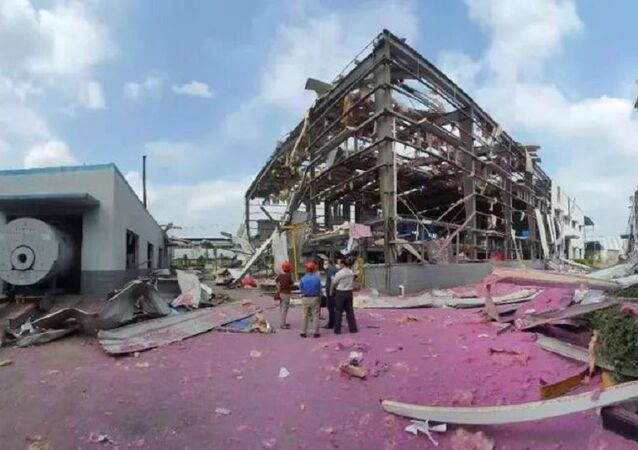 Four people were confirmed dead and another three injured after a blast rocked a chemical plant in south China's Guangxi Zhuang Autonomous Region Tuesday