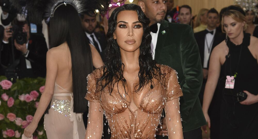 Kim Kardashian attends The Metropolitan Museum of Art's Costume Institute benefit gala celebrating the opening of the Camp: Notes on Fashion exhibition on Monday, May 6, 2019, in New York