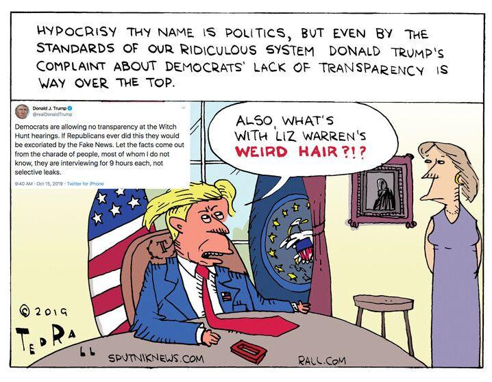 Hypocrite Hijinks