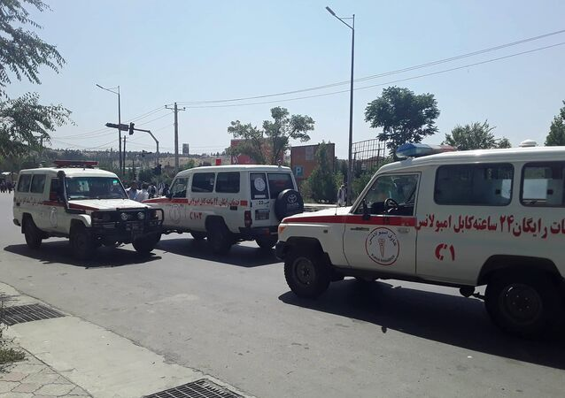 Afghan ambulances (File)
