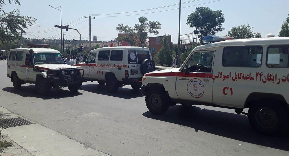 Afghan ambulances (File)