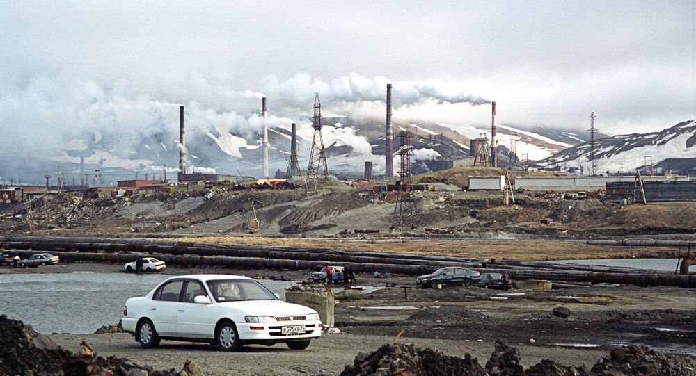 The environs of Norilsk