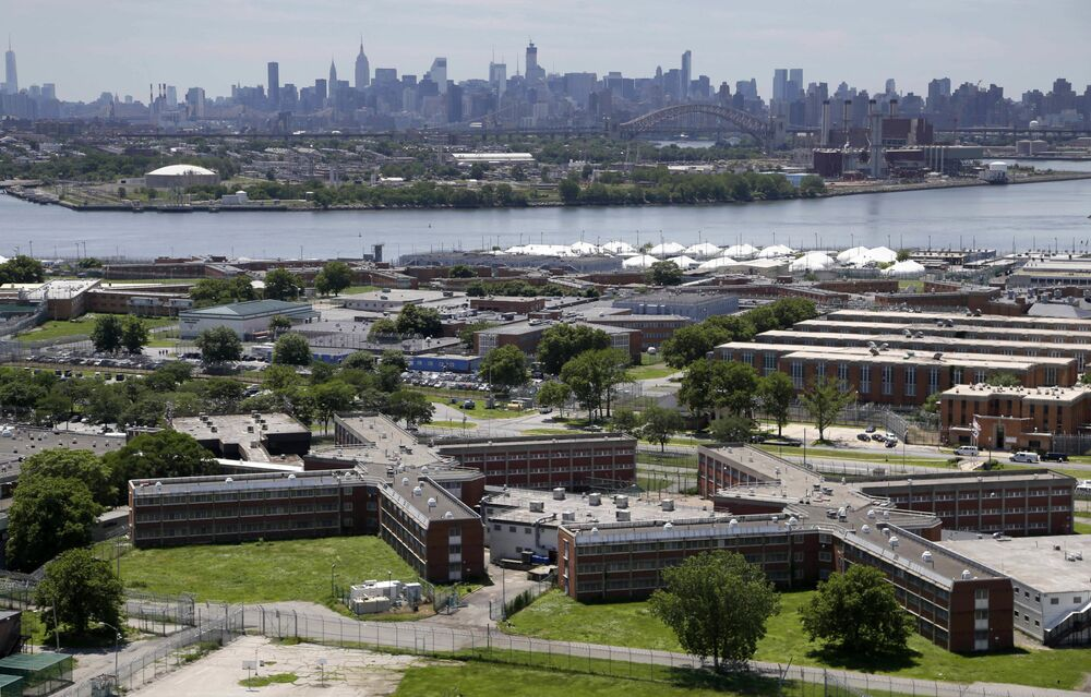The Rikers Island jail complex was opened in 1932 and was originally meant for male prisoners.