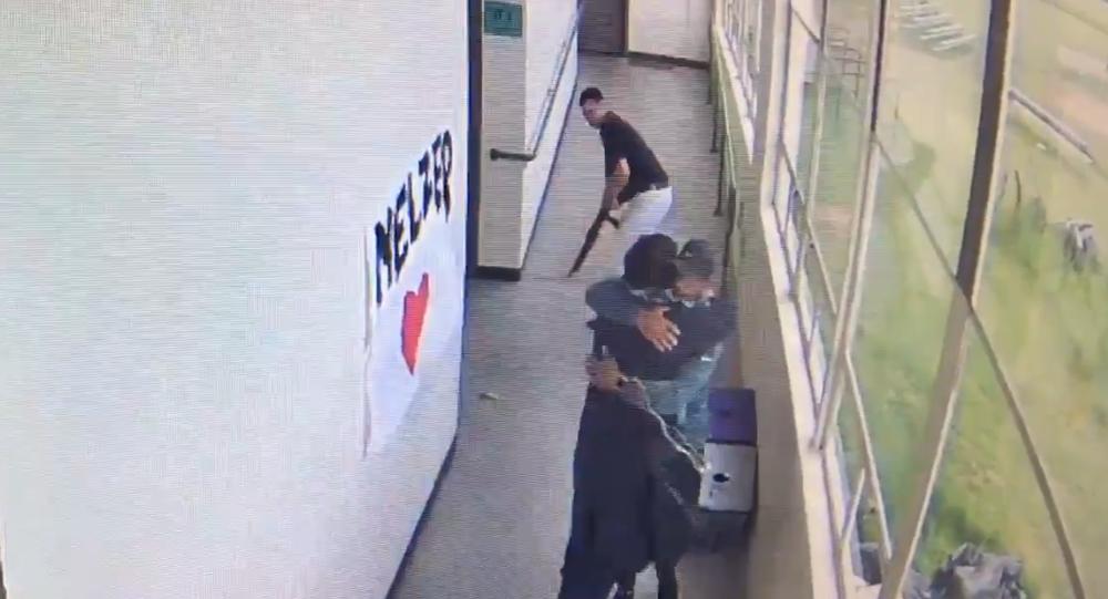 Coach Keanon Lowe disarming Parkrose High School gunman Angel Granados-Diaz