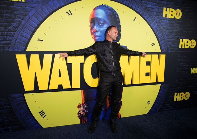 Andrew Howard arrives at the premier of the HBO series Watchmen in Los Angeles, California, U.S., October 14, 2019